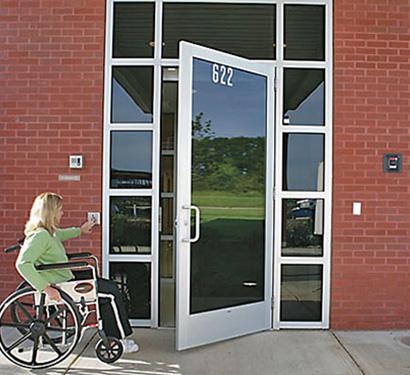 ADA compliance door